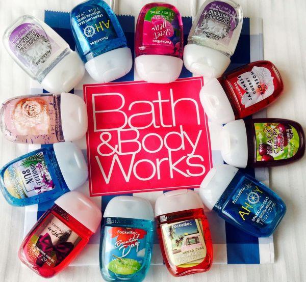 Gel rửa tay khô mini Bath and Body Works diệt khuẩn 99%- Hàng US-MÙI NGẪU NHIÊN