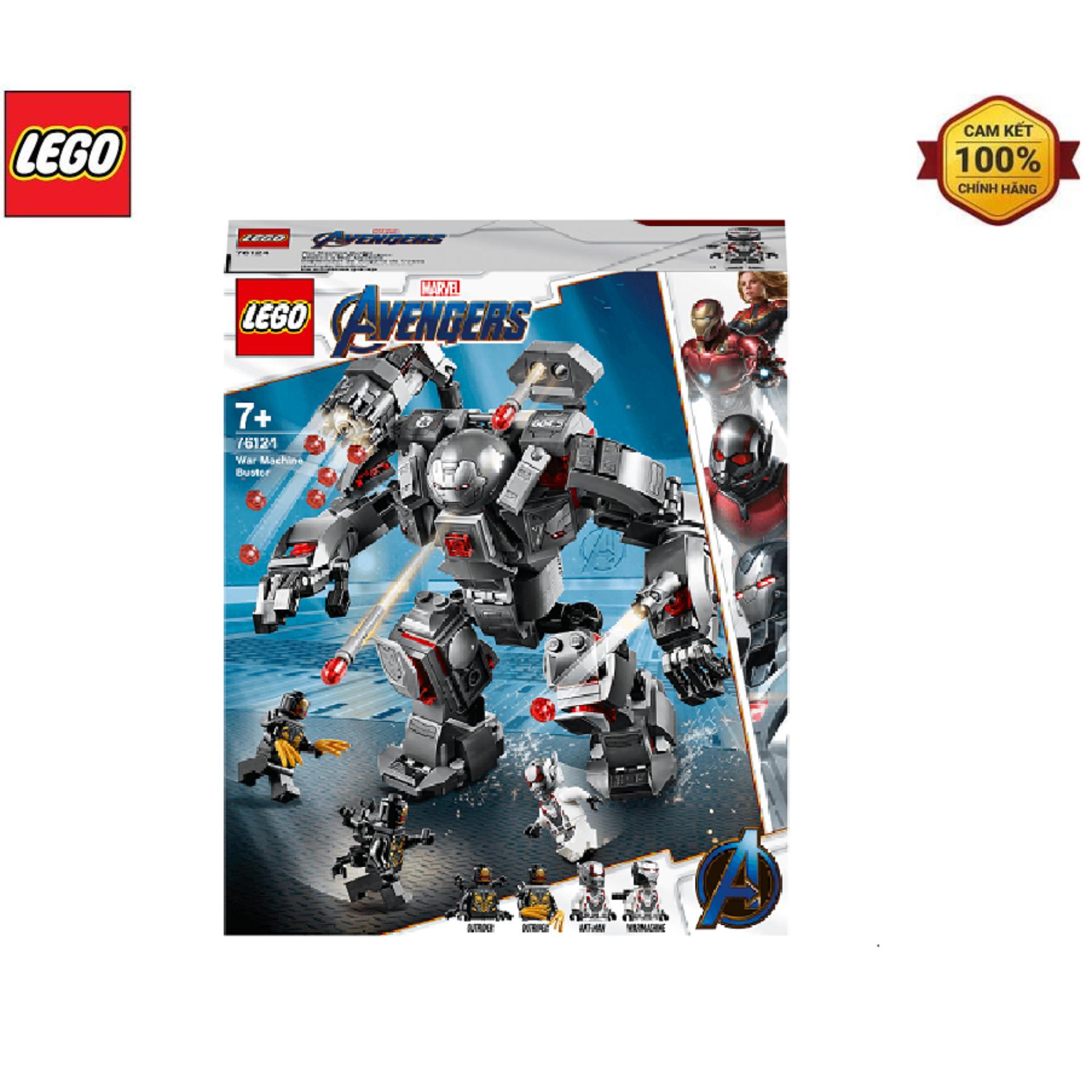 Voucher Khuyến Mại Mô Hình Lắp Ráp LEGO Chiến Giáp Siêu Anh Hùng Đại Chiến 76124