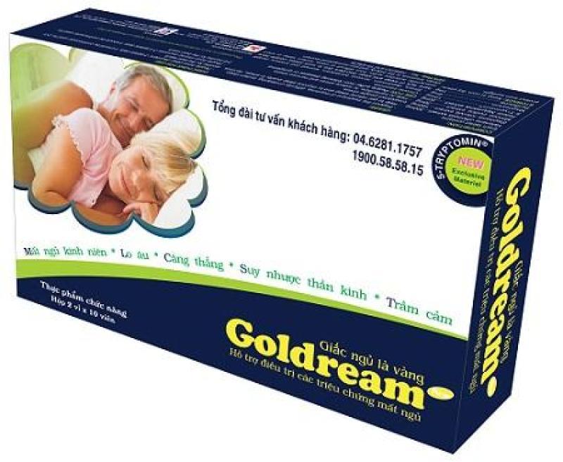 GOLDREAM giúp đem lại giấc ngủ tự nhiên cao cấp