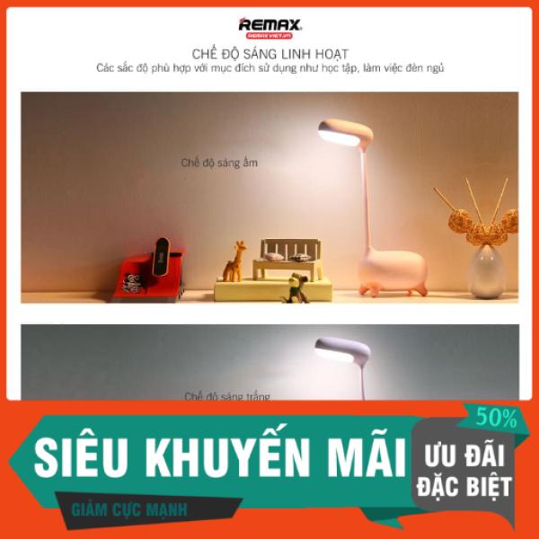 Đèn LED Remax RT-E315 Tính năng thông minh chống cận thị