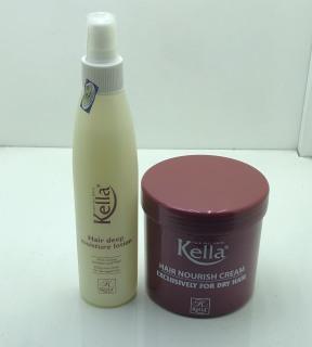 Combo hấp dầu và xịt dưỡng tóc kella chăm sóc tóc hư tổn thumbnail