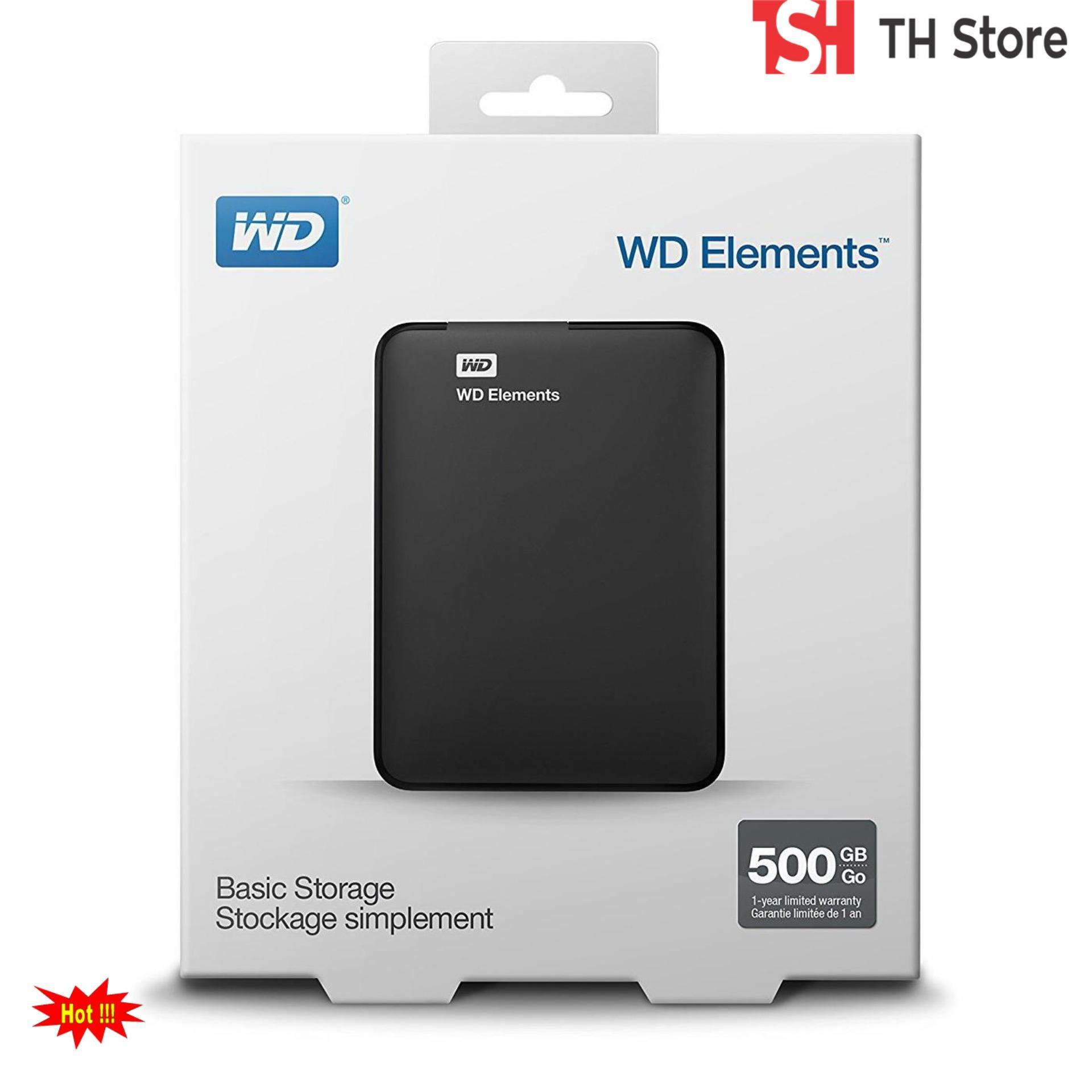 Ổ Cứng Di Động 500Gb WD kết nối USB 3.0