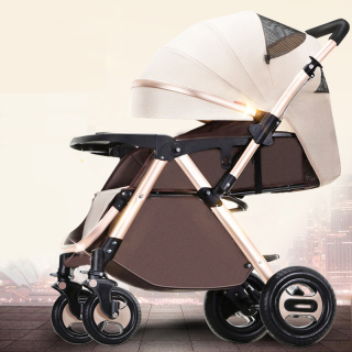 Xe đẩy trẻ em 2 chiều 3 tư thế gấp gọn siêu chắc, mẫu mới 2020 với nhiều quà tặng thumbnail