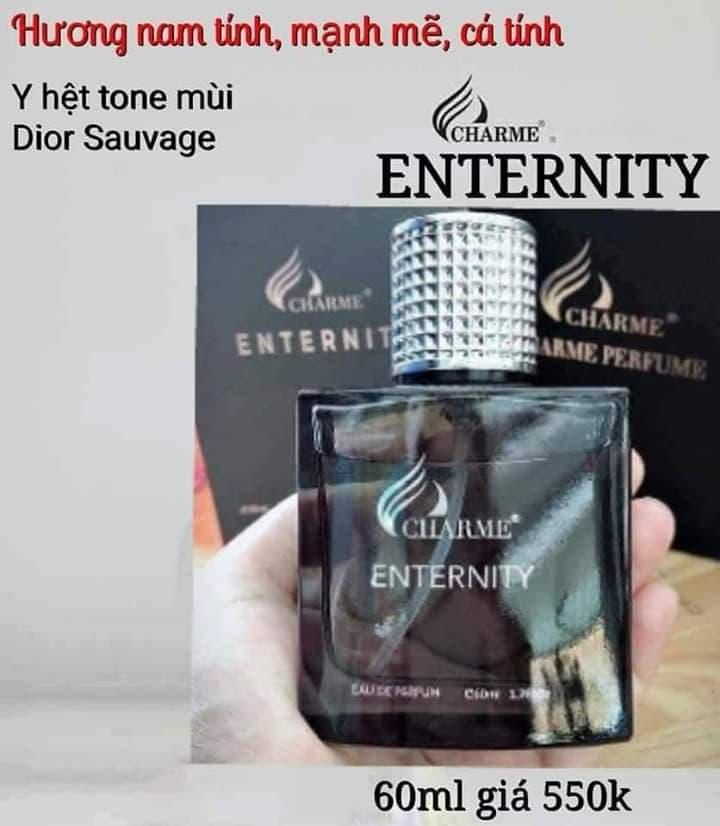 nước hoa nam enternity 60ml=550k tặng kèm 1 son dưỡng cao cấp nhập khẩu