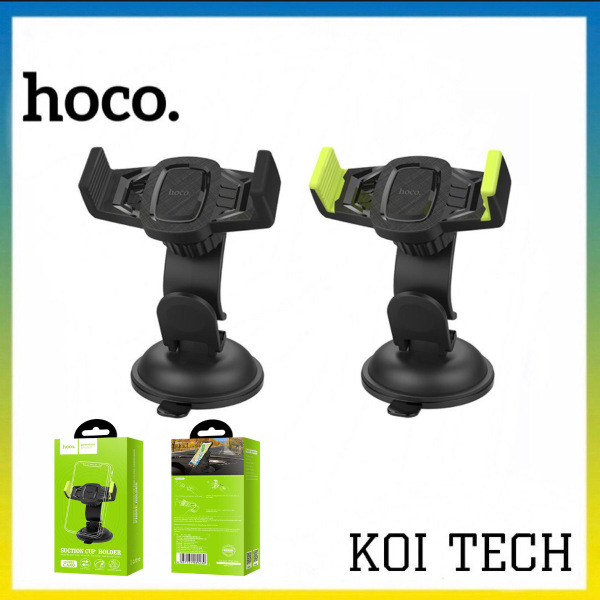 [BẢO HÀNH 12 THÁNG] Giá đỡ điện thoại trên xe hơi cao cấp Hoco CA40 độ bám tốt ổn định và dễ sử dụng