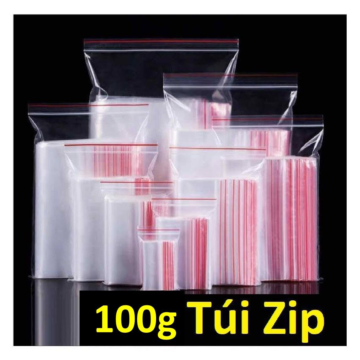 100g Túi Zipper Đủ Size Giá Rẻ Tp HCM Đang Giảm Giá