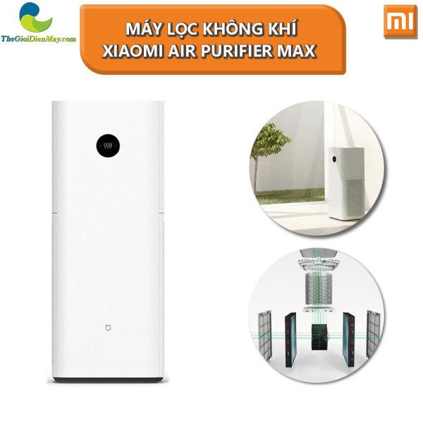 Máy lọc không khí Xiaomi Air Purifier Max - Bảo Hành 12 Tháng - Shop Thế Giới Điện Máy