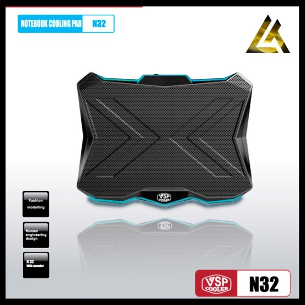 Bảng giá Chân Đế Tản Nhiệt Cho Laptop Vsp Cooler N32 Lt Store Quạt Tản Nhiệt Máy Tính Phong Vũ