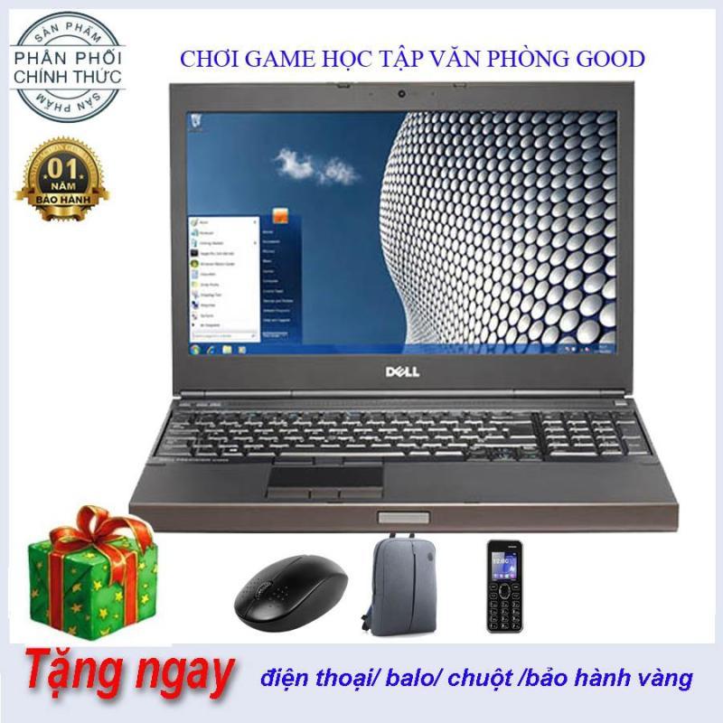 Laptop Dell M4800 i7 4800MQ/16G/SSD240G/VGA 2G Máy trạm Hàng nhập Khẩu Mỹ giá siêu sốc