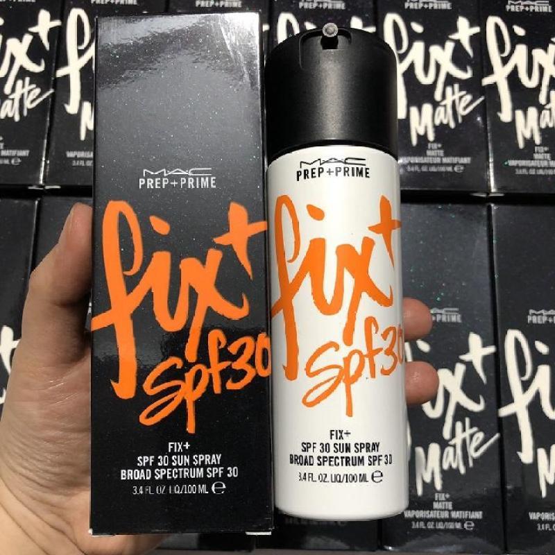 Xịt Khoáng Make Up Dưỡng Ẩm Khóa Nền - MAC - Prep Prime Fix: SPF30 (Chống Nắng) cao cấp