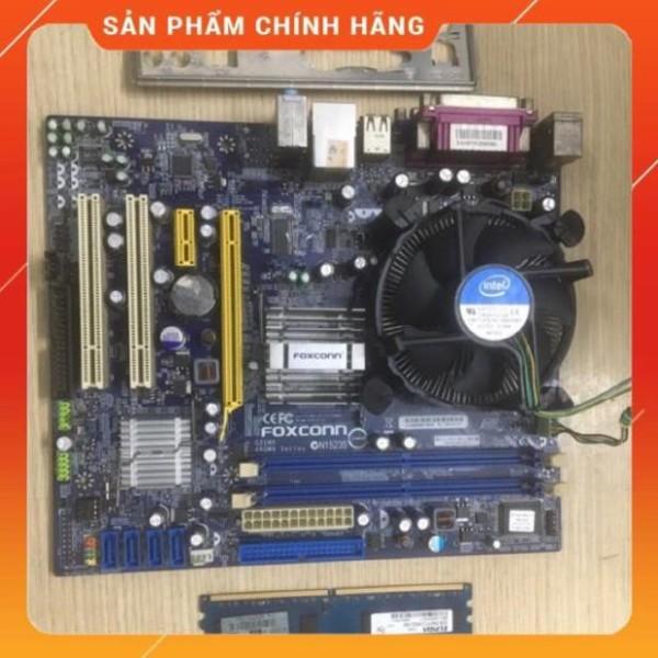 Bảng giá Combo main foxcon G31 + Ram 2Gb + cpu E7500 + Quạt Phong Vũ