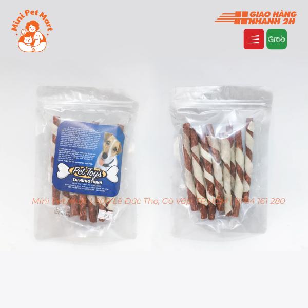 Bánh xương snack, bánh thưởng cho chó TÀI HƯNG THỊNH 853