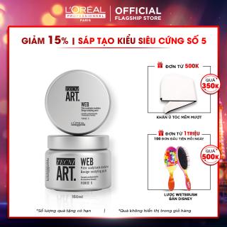 Sáp tạo kiểu tóc độ cứng 5 L'Oréal Professionnel Techni Art Web 150ml