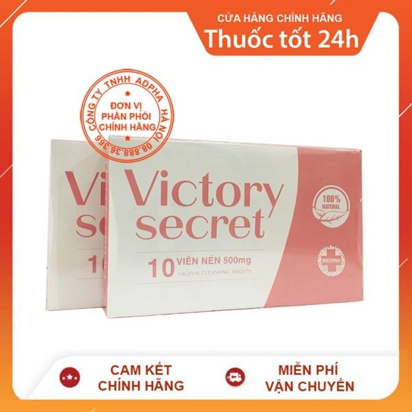 Victory Secret - Hỗ trợ ngăn ngừa viêm nhiễm se khít vùng kín