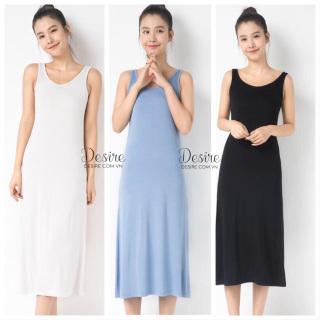 Váy thun sát nách sang trọng vải thun lạnh mịn mát Desire VNN-00101 thumbnail