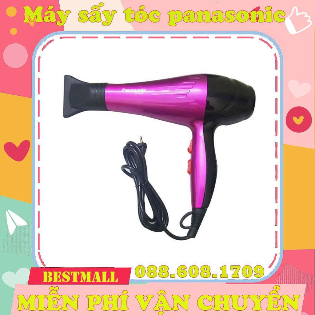 [GIÁ SỈ][ Bảo hành 3 tháng ]Máy sấy tóc  Panasonic công suất cao 2500W (tặng kèm đầu sấy thẳng tóc), may say toc chuyen dung Panasonic cong suat cao, máy sấy tóc 2 chế độ nóng lạnh chính hãng