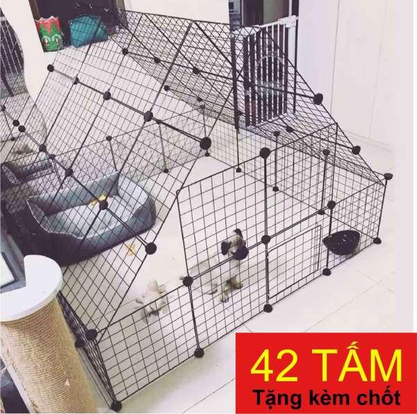 [FREESHIP ❤️] Lưới Thép Lắp Ghép Đa Năng Làm Giá Để Sách, Đồ Gia Dụng, Chuồng Chó Mèo Thú Cưng - SỈ SLL