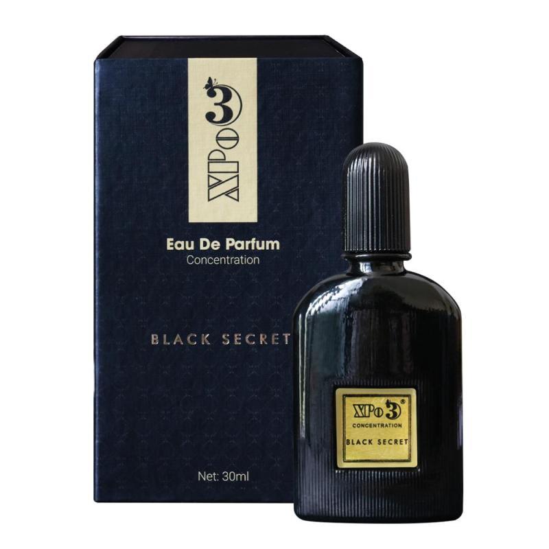 Nước hoa Nam XBeauty XPo3 Black Secret 30ml - Nước hoa thơm lâu cả ngày cao cấp