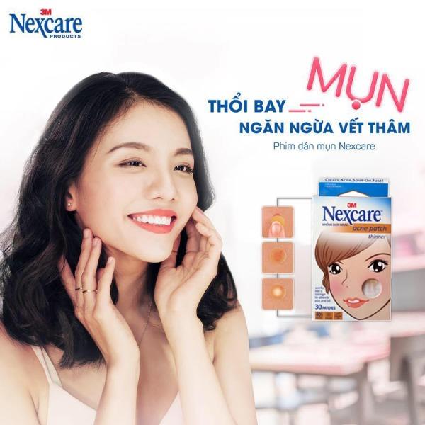 Miếng Dán Mụn Nexcare 3M – USA (Hộp 30 Miếng): giúp loại bỏ mụn, bảo vệ da và hạn chế sẹo thâm do mụn. Đặc biệt làm giảm các loại mụn bọc, mụn mủ. Giúp ngăn chặn vi khuẩn phát triển, giảm viêm, làm mụn nhanh lành hơn.