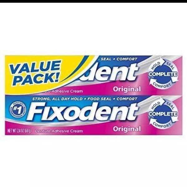 2 Keo dán răng giả Fixodent 68g giá rẻ