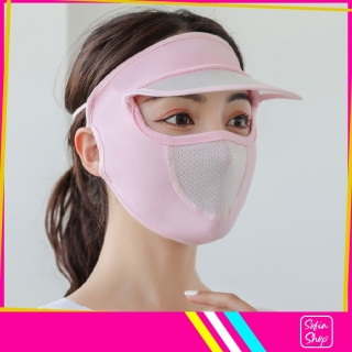Khẩu Trang Ninja Nin Ja Nam Nữ Che Kín Mặt Có Mũ Chống Nắng Bụi Tia UV MUKK24 - Khau Trang Ninja Nin Ja Nam Nu Che Kin Mat Co Mu Chong Bui Nang Tia UV - ShopSofia thumbnail