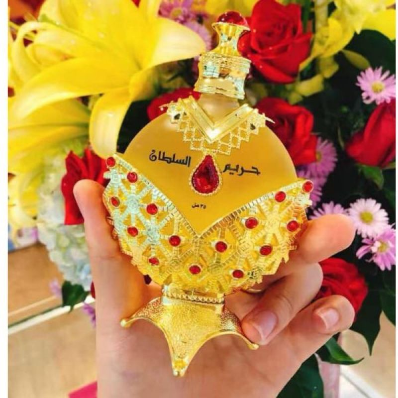 Tinh dầu nước hoa Dubai Nữ hoàng hoàng đỏ nhập khẩu