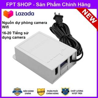 Nguồn Lưu Điện Camera wifi - Lưu trữ điện sử dụng 18-20 tiếng , bảo vệ camera không bị cháy hỏng do nguồn điện tránh kẻ gian ngắt nguồn điện , lưu trữ ghi hình ngay cả khi mất điện thumbnail