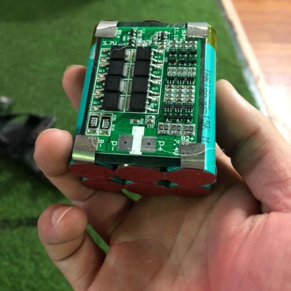 TNS. Sĩ khối pin 3s đóng sẵn 12,6v 4A pin xe điện.