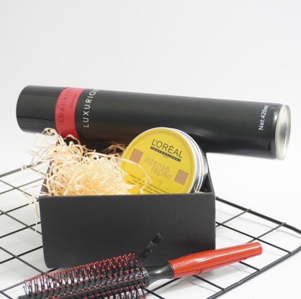 Sáp vuốt tóc 🎁 Freeship 🎁 COMBO sáp vuốt tóc Lreal Trắng Đục CHÍNH HÃNG + u001dGÔM XỊT TÓC tặng kèm lược - Keo vuốt tóc giá rẻ