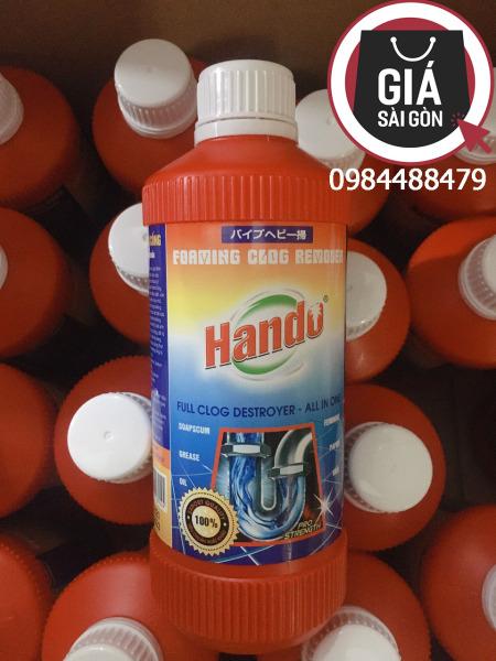 [HCM]Nước thông cống Hando 570ml hàng xuất khẩu - Phân phối bởi Giá Sài Gòn GSG819