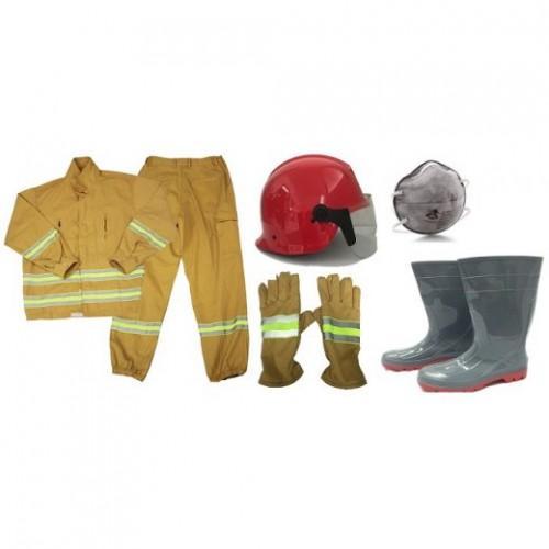 SET Bộ quần áo chữa cháy theo TT48-BCA - Set 5 món- hình thật