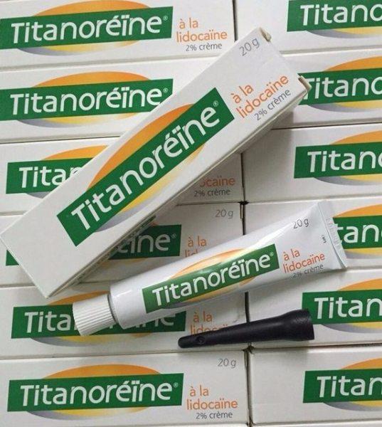 Kem bôi trĩ ngoại Titanoreine của Pháp tuýp 20gr