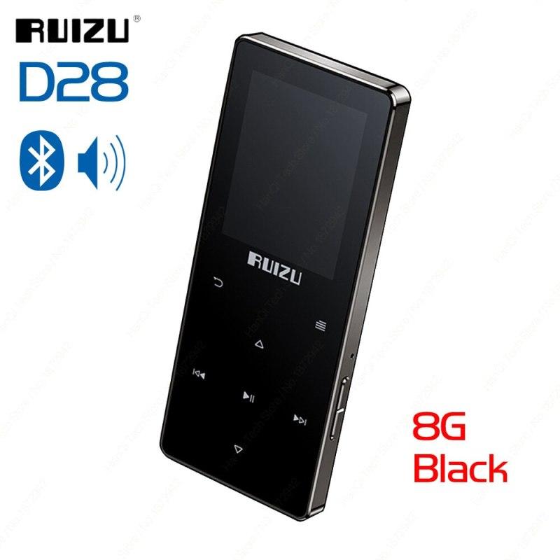 Máy nghe nhạc MP3/Lossless RUIZU D28 hỗ trợ Bluetooth 5.0