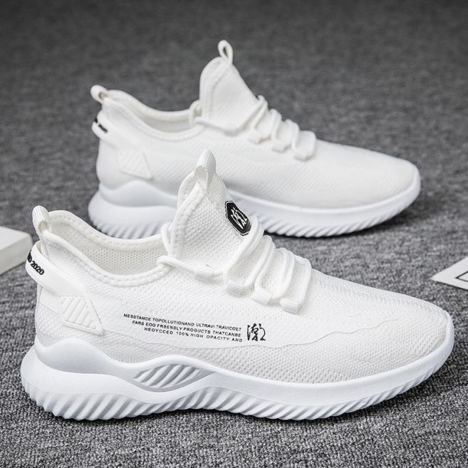 (Video) Giày thể thao nam Mesta 2 màu trắng đen giá rẻ