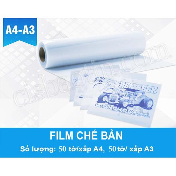 Mua FILM CHẾ BẢN - FILM CHỤP BẢN IN LỤA ĐỤC KHÁNG NƯỚC A4