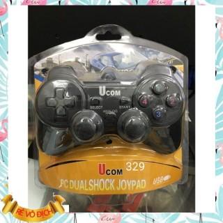 Tay chơi game đơn giá rẻ (Xả Kho) Tay game đơn rung L- 600 USB PS2 có rung Gía Sỉ Gía Lẻ thumbnail