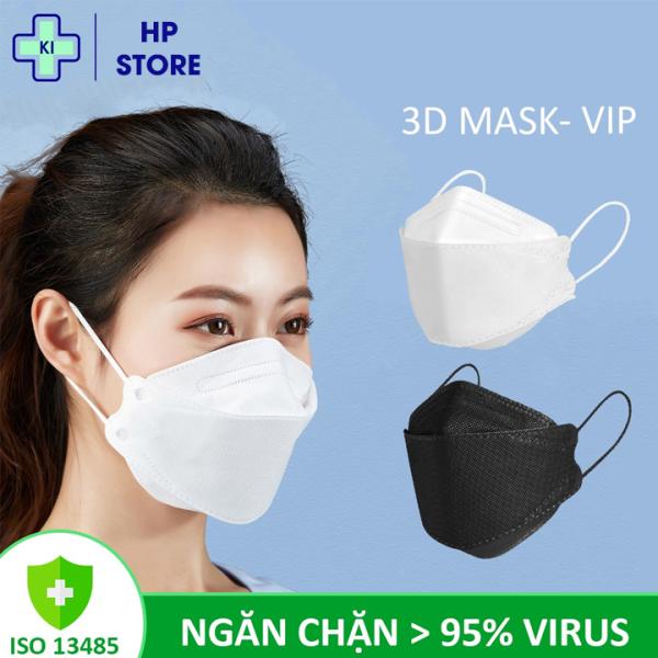 [COMBO 30 chiếc] Khẩu trang y tế 3D KF94 mask Hàn Quốc, 4 lớp HP STORE ngăn chặn vi khuẩn 99% ,có thể tái sử dụng 2-3 lần