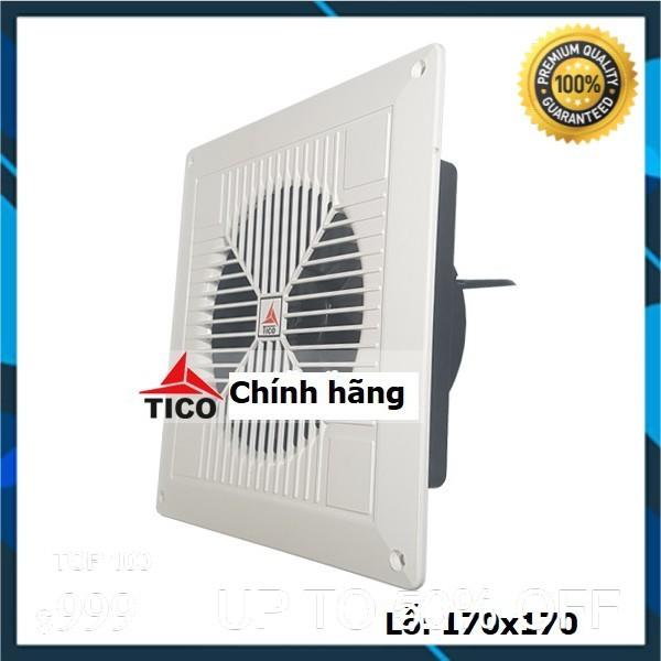 Quạt hút gió TICO TC-16AV6, lỗ: 170x170mm