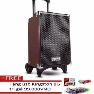 [HCM]Loa kéo Bluetooth Temeisheng Q8S (2 tấc) . 1 micro + Tặng USB Kingston thumbnail