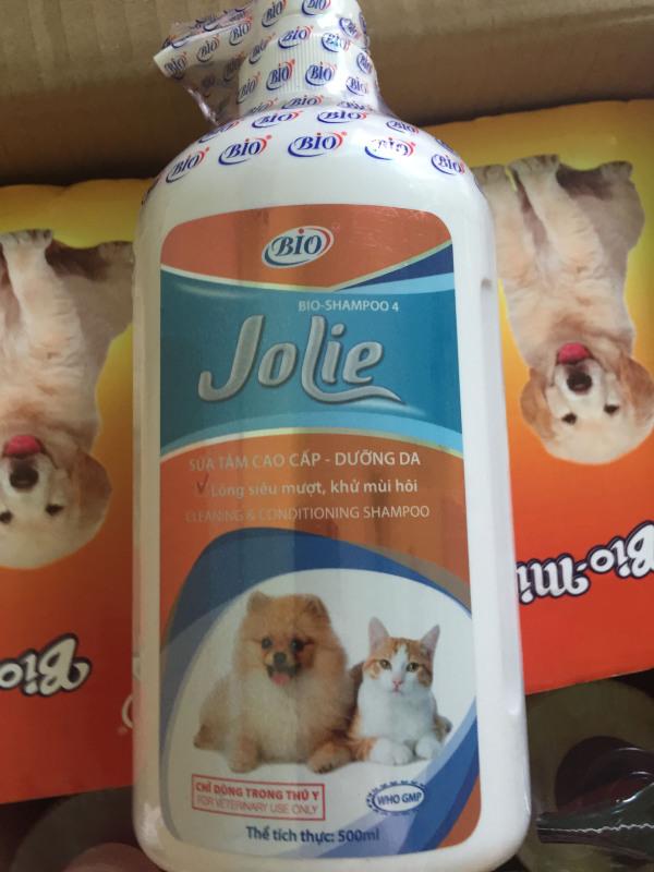 Sữa ngăn rụng lông, dưỡng da, giúp lông siêu mượt, khử mùi hôi Bio- Jolie 500ml