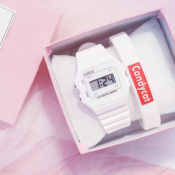 Nơi bán Đồng hồ điện tử dây cao su Unisex đa sắc màu đẹp mắt dây cao su chống nước, HOT2019