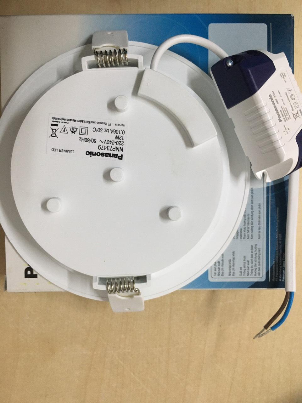 Đèn âm Trần 12W Panasonic ánh Sáng Trung Tính 4000K Khuyến Mãi Sốc