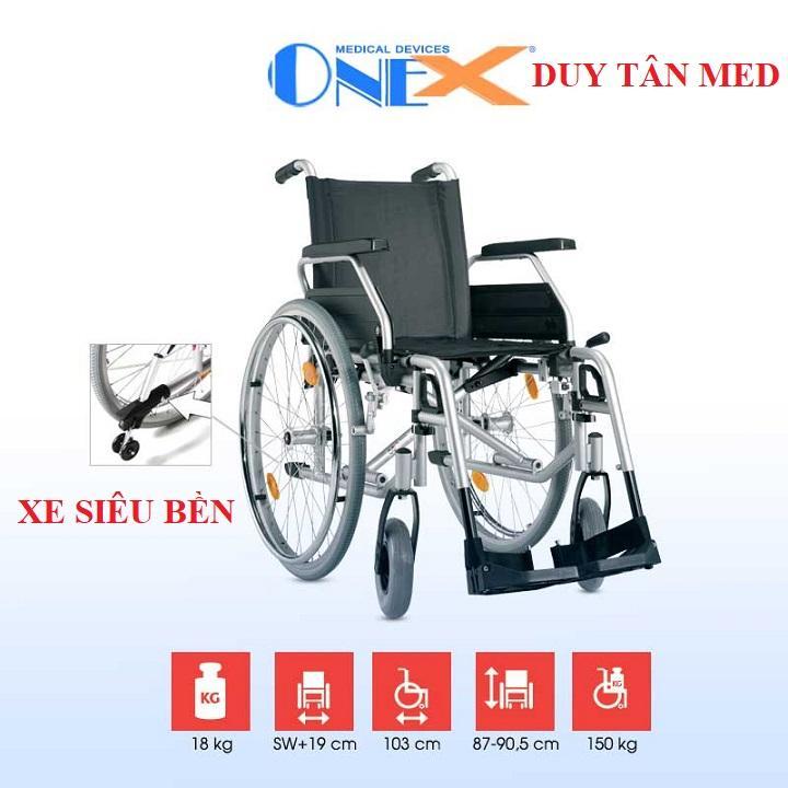 Xe lăn linh hoạt siêu bền cao cấp OneX cao cấp