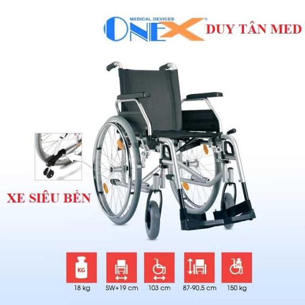 Xe lăn linh hoạt siêu bền cao cấp OneX