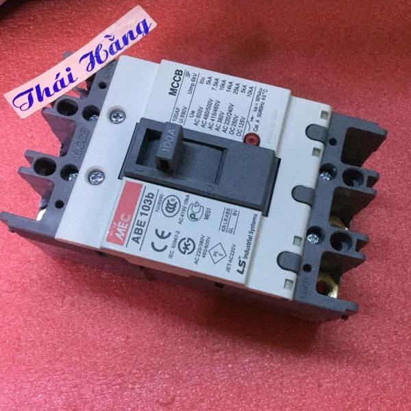 Attomat 3 pha MEC ABE-103 b -100 A - LS