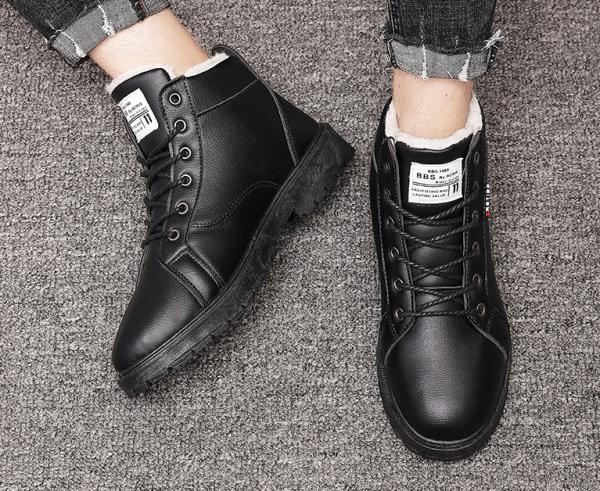 Giày cao cổ, bốt cao cổ màu đen sang trọng, sành điệu mới nhất năm 2020 giá rẻ