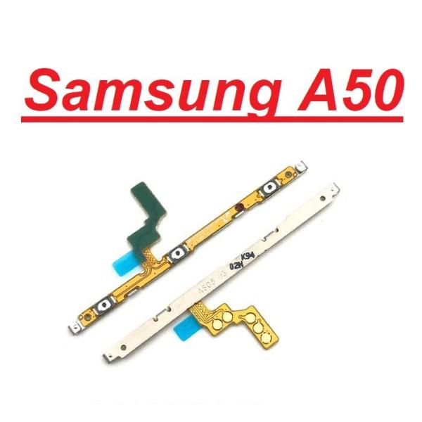 [Mã ELMSM3 giảm 20K đơn bất kì] Chính Hãng Dây Nút Nguồn Âm Lượng Samsung Galaxy A50 Chính Hãng Giá Rẻ