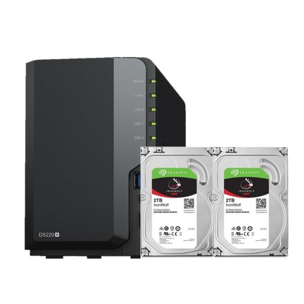 Bảng giá Combo Synology NAS DS220j và 2xHDD Seagate ironwolf Phong Vũ