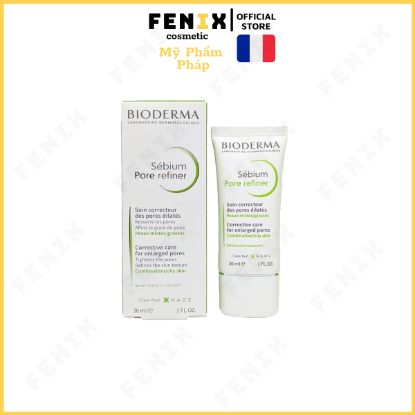 Bioderma Sebium Pore Refiner 40ml ( Pháp )Kem Dưỡng Ẩm Cho Da Dầu, Mụn kiềm dầu thu nhỏ lỗ chân lông giá rẻ