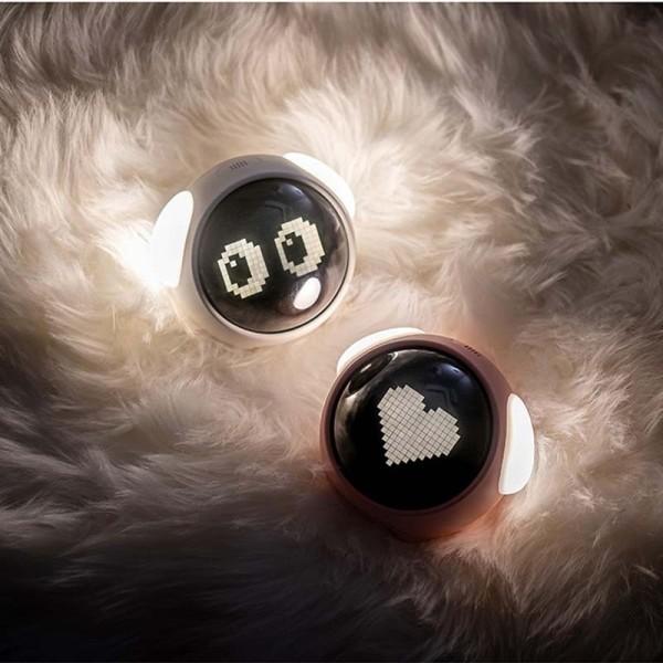 Nơi bán Đồng Hồ Báo Thức Emoji Biểu Cảm Dễ Thương Với Đèn Led, Điều Khiển Bằng Âm Thanh Nhiệt Kế Đo Nhiệt Độ Môi Trường Xung Quanh